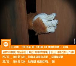 MONSTRO DO ARMÁRIO | Gustavo Campos (Ed) | Belo Horizonte / MG