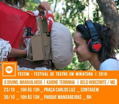 O DIVINO, MARAVILHOSO | Karine Terrinha | Belo Horizonte / MG