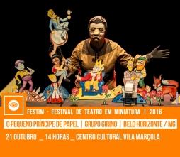O PEQUENO PRÍNCIPE DE PAPEL | Grupo Girino | Belo Horizonte / MG
