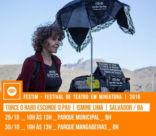 TORCE O RABO ESCONDE O PAU | Ismine Lima | Salvador / BA