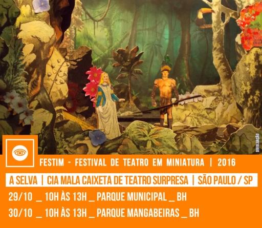 A SELVA | Cia Mala Caixeta de Teatro Surpresa | São Paulo / SP