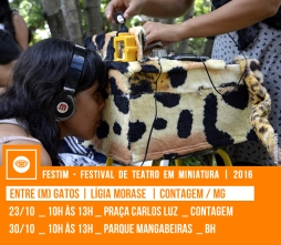 ENTRE(M) GATOS | Lígia Morase | Contagem / MG