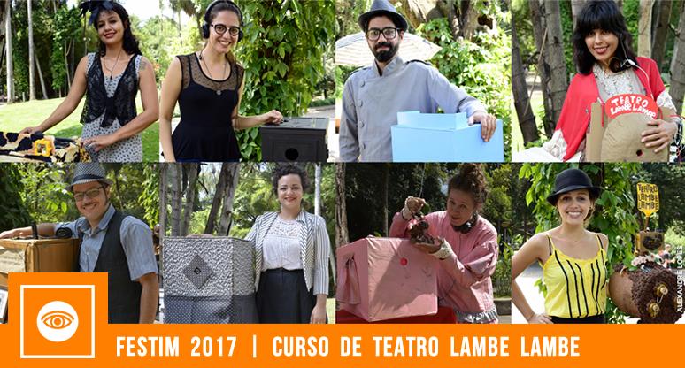 festim 2017 _ curso de teatro lambe lambe