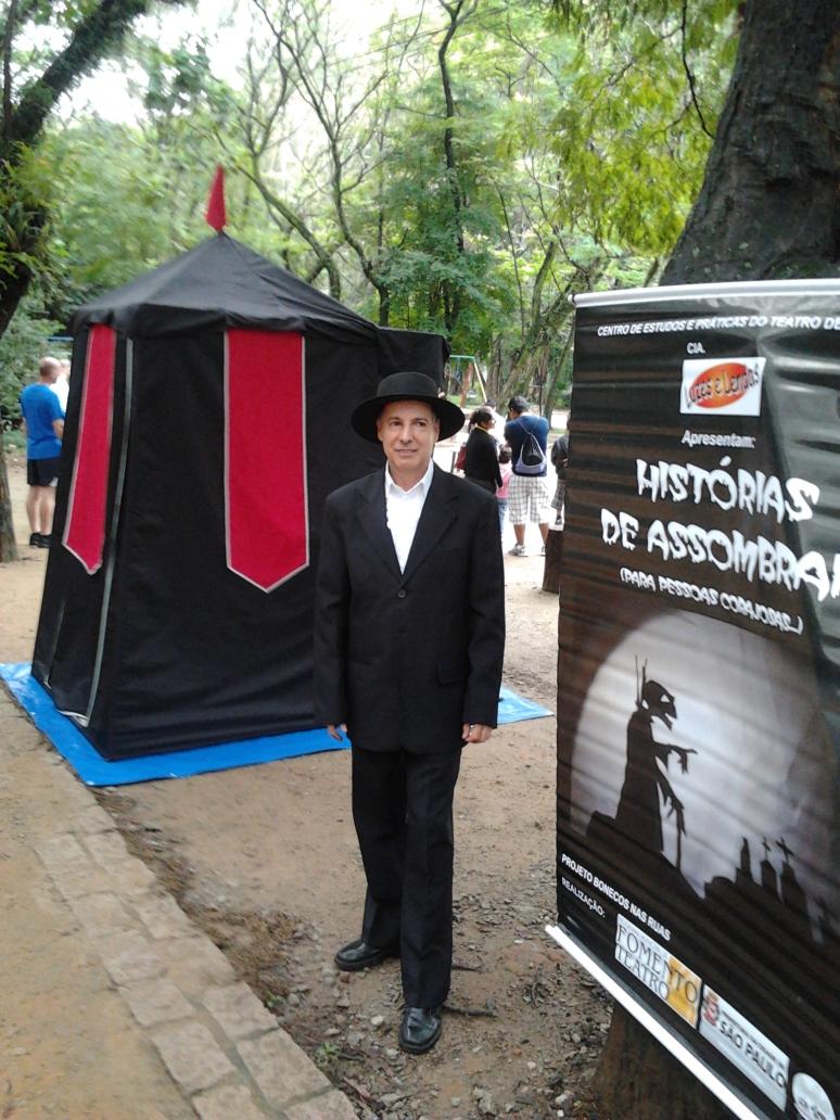 ESPETÁCULO HISTÓRIAS DE ASSOMBRAR _ Cia Luzes e Lendas