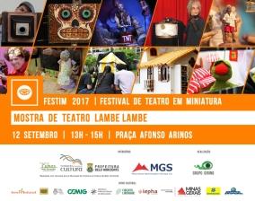 FESTIM 2017 // 12 SETEMBRO // MOSTRA DE ESPETÁCULOS // PRAÇA AFONSO ARINOS