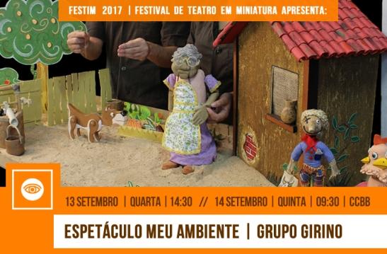 FESTIM 2017 // 13 E 14 SETEMBRO // CCBB BH