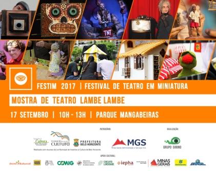 FESTIM 2017 // 17 SETEMBRO // MOSTRA DE ESPETÁCULOS // PARQUE MANGABEIRAS