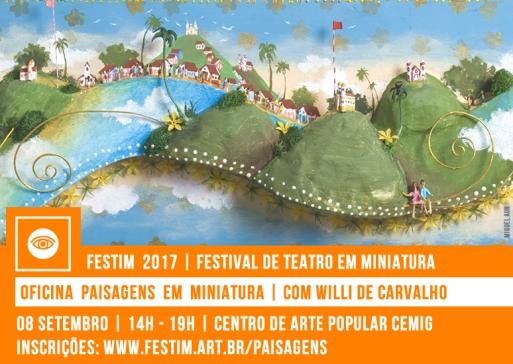 FESTIM 2017 // OFICINA PAISAGENS EM MINIATURA