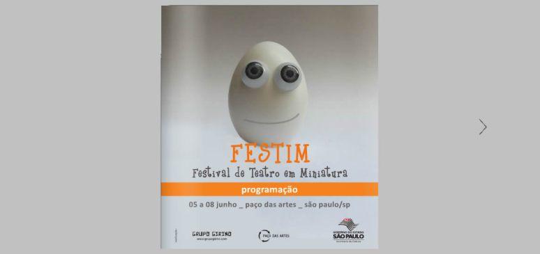FESTIM _ festival de teatro em miniatura sp