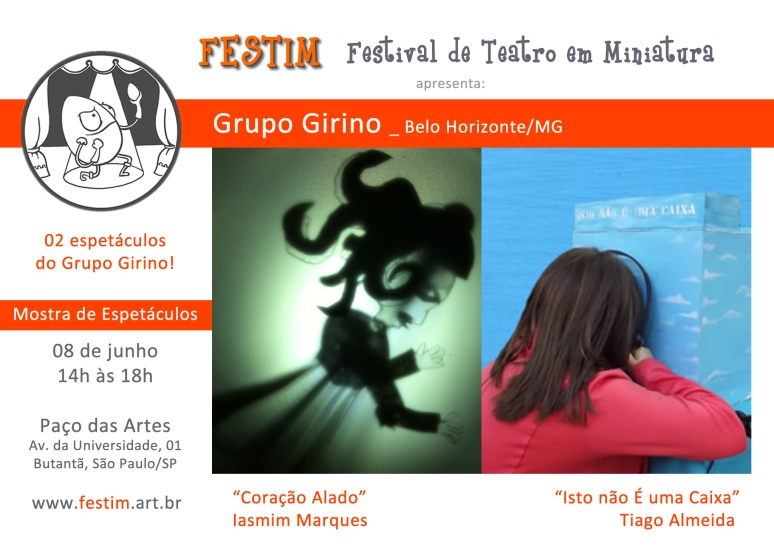 Grupo Girino_ Espetáculos FESTIM _ Festival de Teatro em Miniatura