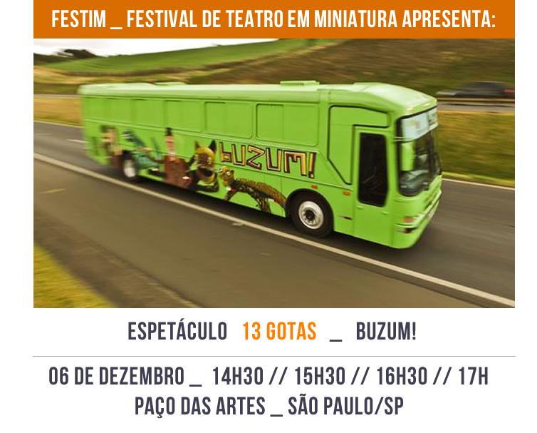 FESTIM _ Espetáculo 13 gotas _  buzum!