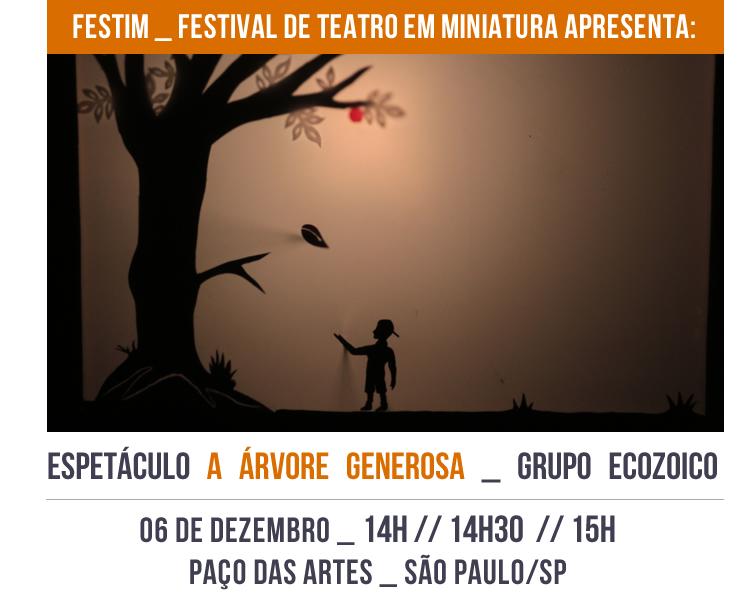 FESTIM _ Espetáculo a ÁRVORE GENEROSA _ grupo Ecozoico