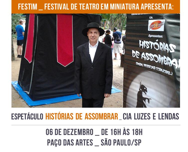 FESTIM _ Espetáculo HISTÓRIAS DE ASSOMBRAR _ Cia Luzes e Lendas