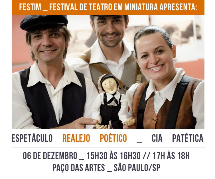 FESTIM _ Espetáculo REALEJO POETICO _ Cia Patética
