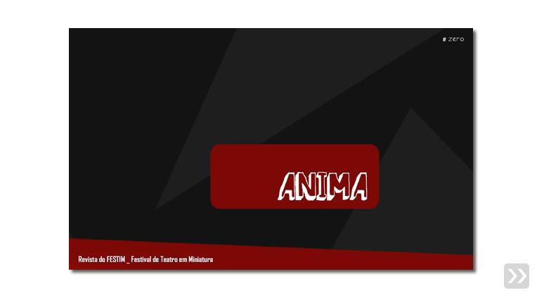 revista anima _ 1 edição _ 2012