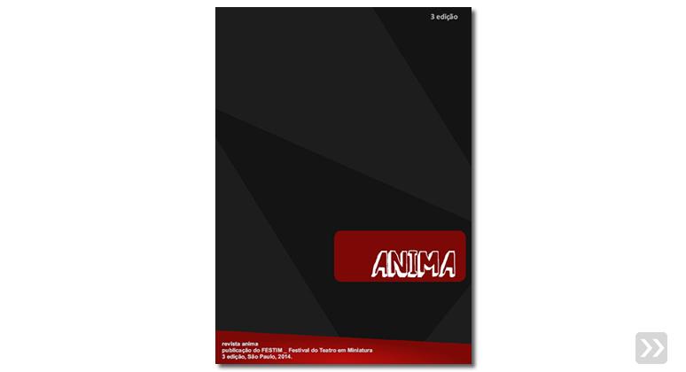 revista anima _ 3 edição _ 2014