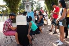 FESTIM 2015 _ Festival de Teatro em Miniatura _ Mini Teatros de Sombras / Grupo Girino _ Foto Hugo Honorato