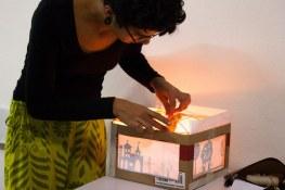 FESTIM 2015 _ Festival de Teatro em Miniatura _ Oficina Teatro de Sombras / Grupo Girino _ Foto Hugo Honorato