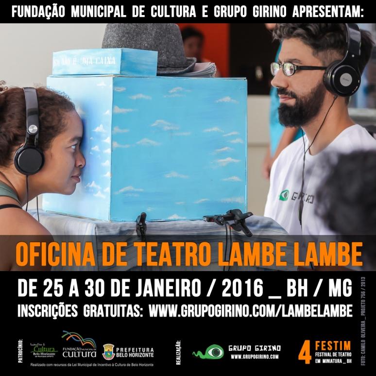 Oficina deTeatro Lambe Lambe _ Grupo Girino 2016