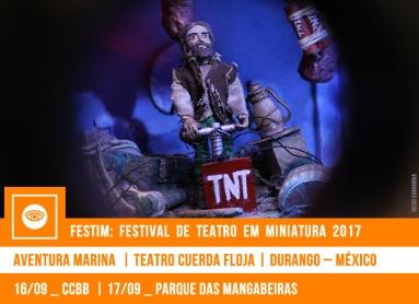 // FESTIM 2017 // AVENTURA MARINA | TEATRO CUERDA FLOJA