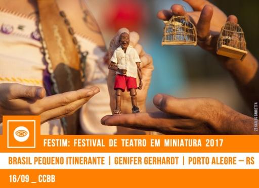 // FESTIM 2017 // BRASIL PEQUENO ITINERANTE | GENIFER GERHARDT