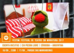 // FESTIM 2017 // CUENTA OVEJITAS | CIA PIEDRA LIBRE
