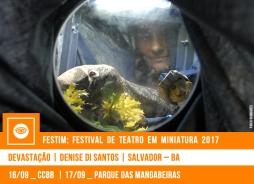 // FESTIM 2017 // DEVASTAÇÃO | DENISE DI SANTOS