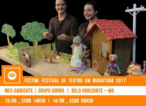 // FESTIM 2017 // MEU AMBIENTE | GRUPO GIRINO