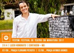 // FESTIM 2017 // 3 x 4 | LUCIO HONORATO