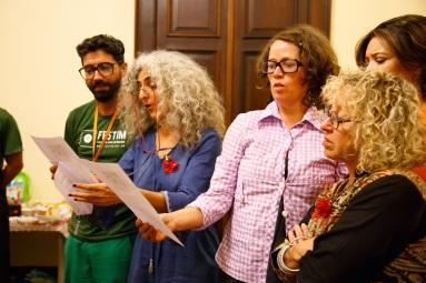 FESTIM - FESTIVAL DE TEATRO EM MINIATURA - Café Debate e Revista Anima - Foto Hugo Honorato