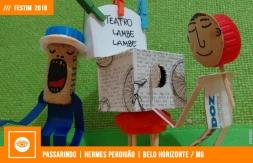 FESTIM 2018 | PASSARINDO | HERMES PERDIGÃO